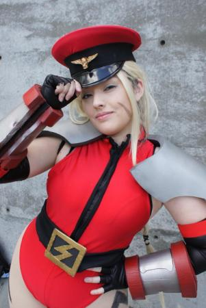 Cammy from Street Fighter IV worn by Shadow Lady Chun-li