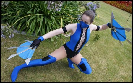 Kitana from Mortal Kombat