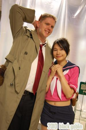Kay Faraday from Ace Attorney Investigations: Miles Edgeworth worn by Gwiffen