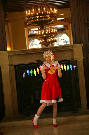 Flandre Scarlet from Touhou Project worn by Gwiffen