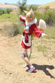 Selkie / Kinu from Fire Emblem Fates worn by Gwiffen