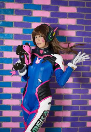 D.Va from Overwatch worn by Gwiffen