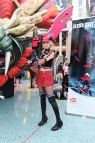 Alisa Illinichina Amiella from GOD EATER (Worn by Gwiffen)