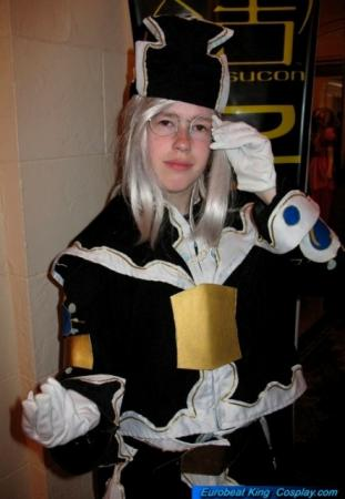 Abel Nightroad from Trinity Blood
