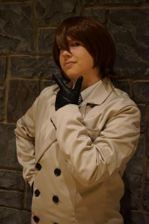 Goro Akechi from Persona 5 worn by Lyn Hargreaves