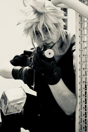 Cloud Strife from Final Fantasy VII: Crisis Core by Lyn Hargreaves