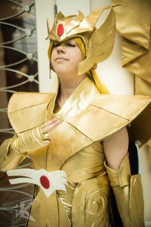 Virgo Shaka from Saint Seiya worn by Lyn Hargreaves