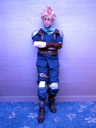 Cloud Strife from Final Fantasy VII: Crisis Core worn by Lyn Hargreaves