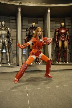 Rescue (Pepper Potts) from Iron Man worn by Lady S.