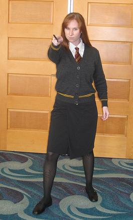 Ginny Weasley from Harry Potter worn by Lady S.