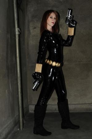 Black Widow / Natasha Romanoff from Iron Man worn by Lady S.