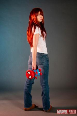 Mary Jane Watson from Marvel Comics worn by Neoangelwink