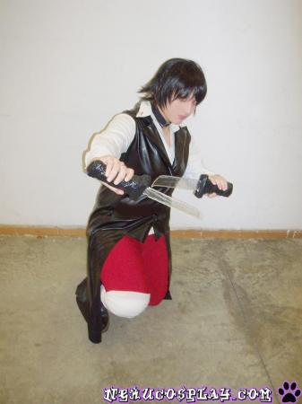 Nikaido Akira from Monochrome Factor