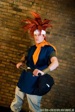 Chrono from Chrono Trigger worn by chibik3r0