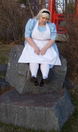 Alice from Alice in Wonderland worn by ardhri
