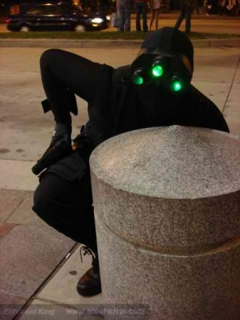 Sam Fisher from Splinter Cell worn by Evaunit01berserk