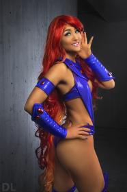 Starfire from DC Comics worn by mostflogged