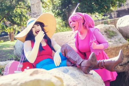 Marceline the Vampire Queen from Adventure Time with Finn and Jake by mostflogged
