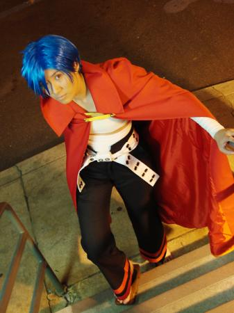 Kamina from Tengen Toppa Gurren-Lagann worn by Shounen Soul