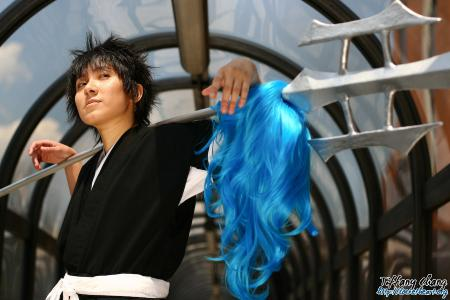 Kaien Shiba from Bleach worn by Shounen Soul