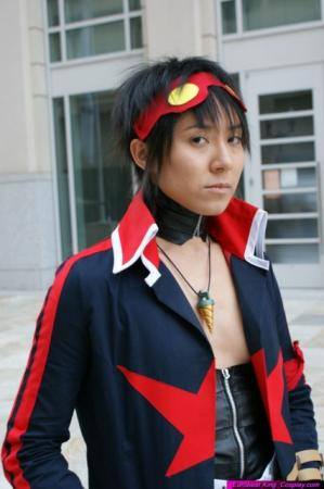Simon from Tengen Toppa Gurren-Lagann worn by Shounen Soul