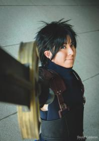 Zack Fair from Final Fantasy VII: Crisis Core worn by Shounen Soul