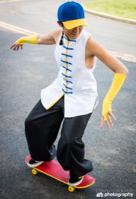 Yun from Street Fighter III worn by Shounen Soul