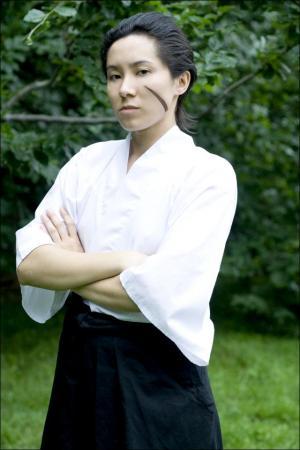Katakura Kojuuro from Sengoku Basara worn by Shounen Soul