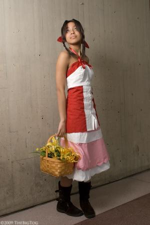 Aeris / Aerith Gainsborough from Kingdom Hearts 2 worn by Renzokuken
