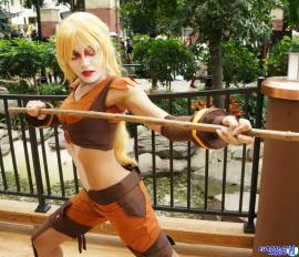 Cheetara from Thundercats worn by Renzokuken