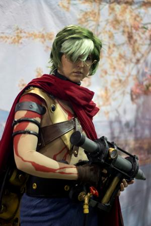 Ikoma from Kabaneri of the Iron Fortress worn by Sailor Anime