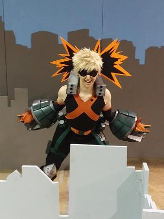Bakugo Katsuki from My Hero Academia by Sailor Anime