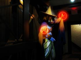 Black Mage from Final Fantasy worn by Sailor Anime