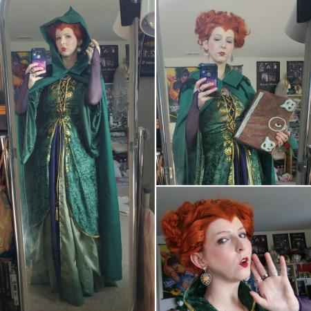 Winifred (Winnie) Sanderson from Hocus Pocus worn by Sailor Anime