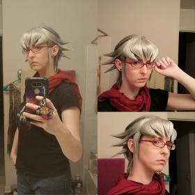 Reiji Akaba from Yu-Gi-Oh! Arc-V worn by Sailor Anime