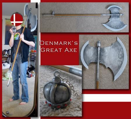 Denmark from Axis Powers Hetalia worn by Sailor Anime