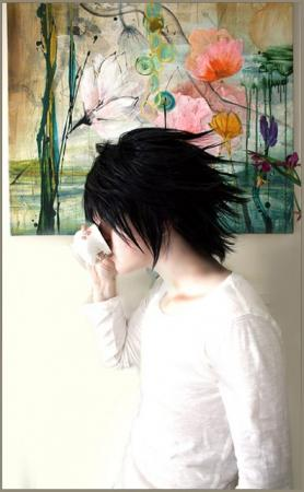 L / Ryuuzaki from Death Note worn by Roux