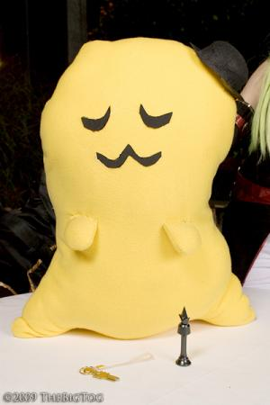 Cheese-kun from Code Geass worn by KitsuEmi