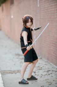 Yoh Asakura from Shaman King worn by KitsuEmi