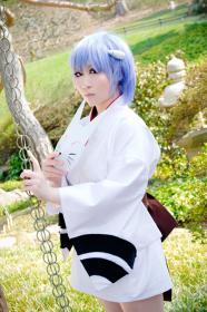 Rei Ayanami from Neon Genesis Evangelion worn by KitsuEmi