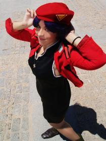 Misato Katsuragi from Neon Genesis Evangelion worn by Lulu Miyazawa
