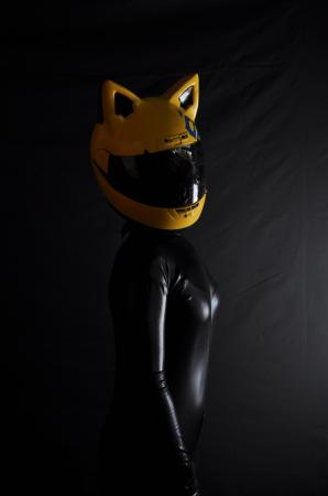 Celty Sturluson from Durarara!! worn by Lulu Miyazawa