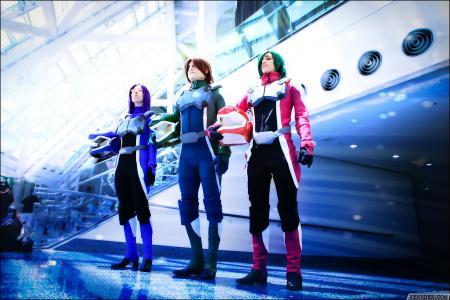 Tieria Erde from Mobile Suit Gundam 00 worn by Aerial