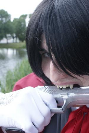 Alucard from Hellsing worn by xProfAwesome