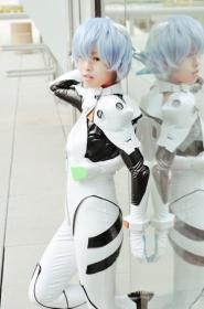 Rei Ayanami from Neon Genesis Evangelion worn by lapetitesalope