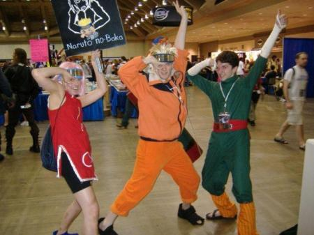 Rock Lee from Naruto (Worn by T3Knikolor)