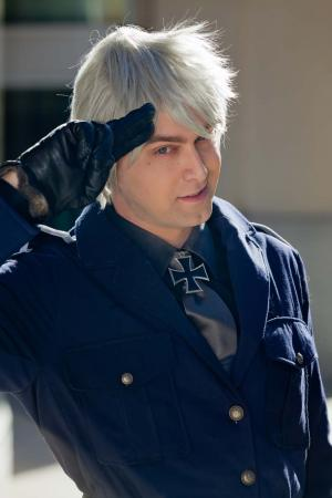 Prussia / Gilbert Weillschmidt from Axis Powers Hetalia worn by madgophermm5