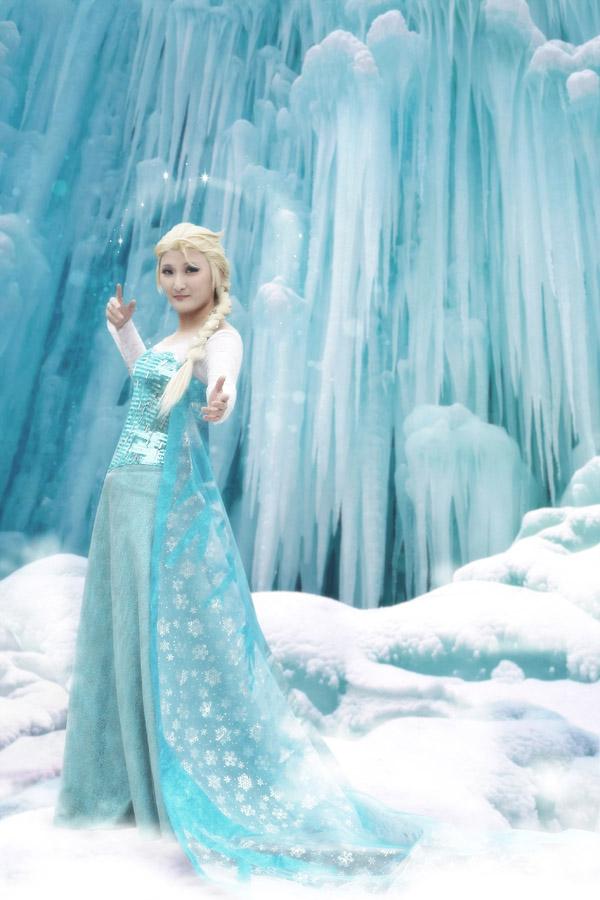 холодное сердце эльза в снегу фото яркие представления, захватывающие
