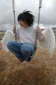 L / Ryuuzaki from Death Note worn by shannuckles