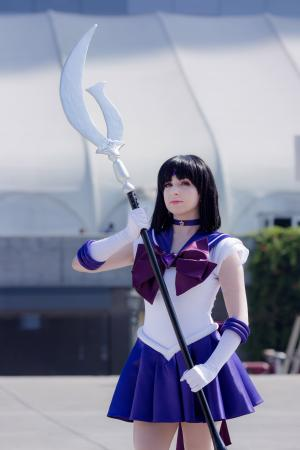 Super Sailor Saturn from Sailor Moon Crystal by shannuckles
